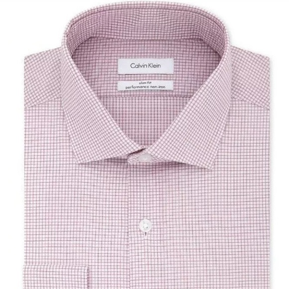 lower price with great discount look for Calvin Klein Men's Slim-Fit Stretch Dress Shirt NWT
